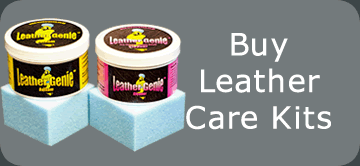 leather care kits by leather genie
